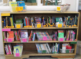 Classroom Bookshelf Taming The Classroom Library The Teaching Experiment