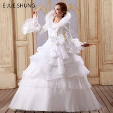 Winter Wedding Dress Winter Wedding Gowns Picture More Detailed Picture About E Jue