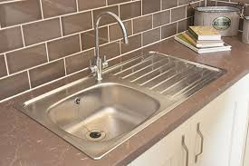 how to keep stainless steel sink shiny barratt homes caring for your kitchen sink