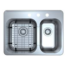 Ancona Capri DropIn  X  Double Bowl Kitchen Sink With - Bowl kitchen sink