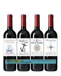 anniversary wine bottles 8 best anniversary wine bottle labels images on wine