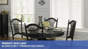 Wooden Blinds Com Blinds Com 2 U0026 34 Premium Fauxwood Blinds U0026raquo Product Spotlight