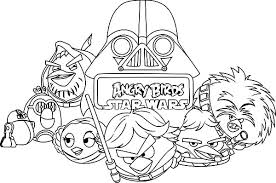 drawing angry bird star wars colouring happy colouring