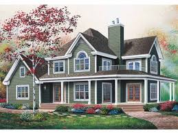small farmhouse plans wrap around porch 120 best house plans images on southern living house