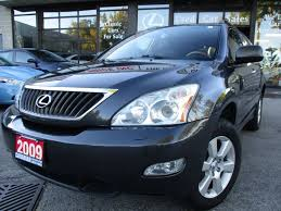 lexus rx 350 used 2009 used 2009 lexus rx 350 prm pkg awd leather sunroof loaded for