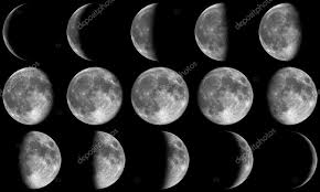 moon phases grey stock photo tristan3d 4395061