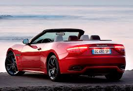 maserati red convertible driven maserati grancabrio sport chocks away wayne u0027s world