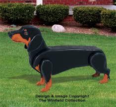 3d animal project patterns 3d size dachshund woodcraft pattern