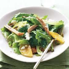 Salad Main Dish - chicken feta and pistachio salad