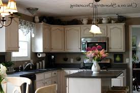 how to decorate above kitchen cabinets shaweetnails kitchen decorate above kitchen cabinets diy steel range hood above