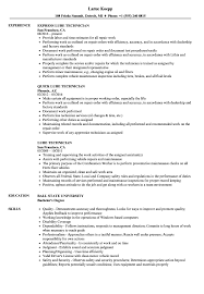 exle of a student resume lube technician resume sles velvet