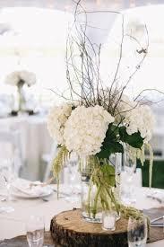White Hydrangea Centerpiece by White Hydrangea Centerpieces For Weddings Wedding Centerpieces