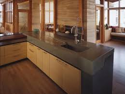 Concrete Kitchen Cabinets Concrete Kitchen Countertops Kitchen Remodeling Hgtv Remodels