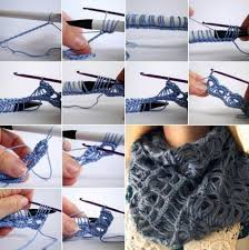 broomstick lace infinity scarf broomstick lace infinity scarf crochet pattern tutorial