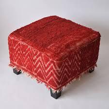 ekenas ottoman kilim tribal ottoman pouf ottoman pouf kilim
