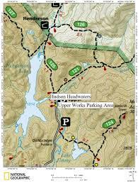 Hudson River Map Hudson River Headwaters