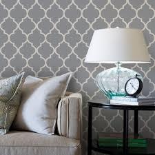 temporary wallpaper moroccan wallpaper cool dark grey peel and stick