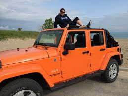 orange jeep a canadian jeep is born field reporter jpfreek adventure
