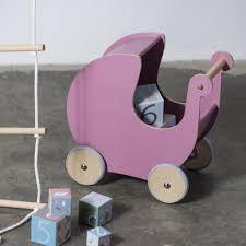 howa spielk che puppenwagen rosa holz sebra sale kinderzimmer
