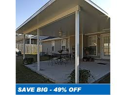 x 24 u0027 insulated aluminum patio cover kit special price one only