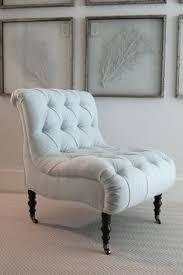 Tufted Slipper Chair Sale Design Ideas Grey Velvet Slipper Chair A Perfect Height For Slipping On The