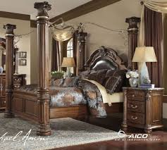 Beautiful Bedroom Sets King Fascinating Aico Pc Cortina California - California king size bedroom sets cheap