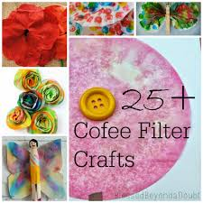25 coffee filter crafts and ideas coffee filters