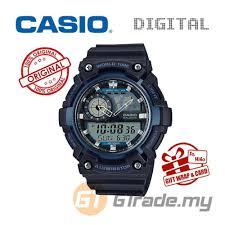 World Map Watch Casio Standard Aeq 200w 2av Analog Digital Watch World Map