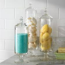 Bathroom Storage Jars Attention Glass Airtight Storage Jars From Lovesulli