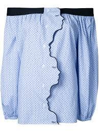 vivetta ruffled trim skirt 71 women clothing asymmetric u0026 draped