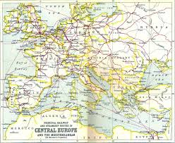 Railroad Map Of Usa by Rom Sig Rail Routes Out Of Romania