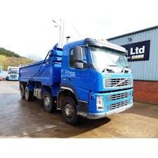 volvo fm12 380 2005 8x4 tipper manual gearbox commercial