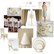 silver and gold inspiration board julie blanner entertaining