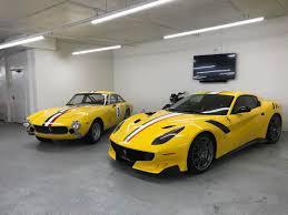 Ferrari F12 White - this collector ordered a ferrari f12 tdf to match his u002764 250 lusso