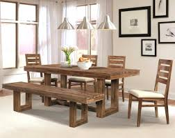 Bench For Dining Room Table  Big  Small Dining Room Sets With - Dining room table bench