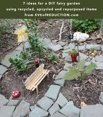 diy fairy garden ideas eve of reduction
