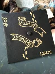 Extraordinary Decoration For Graduation Caps Hand Painted