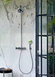axor 39739001 citterio thermostatic showerpipe in chrome shower