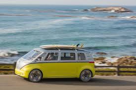 bmw volkswagen van the volkswagen bus is back as the 2022 i d buzz bestride