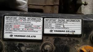 motor 4 cilindri yanmar 44 4 kw la 2000 rpm tip 4tnv98 xbv family