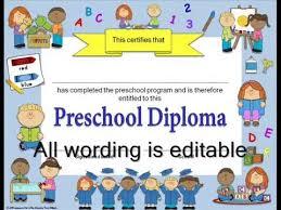 preschool graduation invitations editable diplomas graduation invitations for preschool