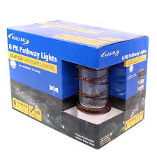 Malibu Led Landscape Lights Malibu 6 Pack Pathway Lights Solar Led Landscape