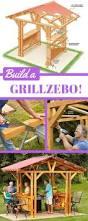Backyard Grill Roscoe by Grill Gazebo Plans Make A Grillzebo Diy Gazebo Gazebo Plans