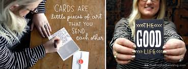 make someone s day with a just because card think make