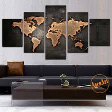 Home Decor Wall Paintings Online Get Cheap Wall Art Map Aliexpress Com Alibaba Group