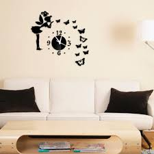 Decoration Geometric Wall Decals Home by Online Get Cheap Geometric Wall Clock Aliexpress Com Alibaba Group