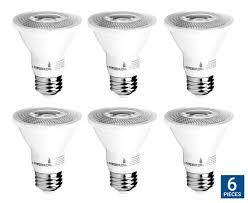 hyperikon par20 led bulb dimmable 8w 50w equivalent cri 90
