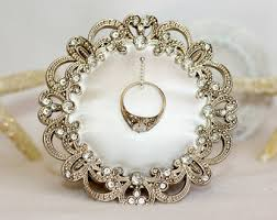wedding ring holder wedding ring holder square distressed white frame engagement