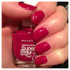 maybelline super stay gel nail colour review coming clean