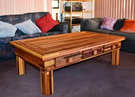 massive coffee tables built to last decades forever redwood